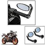 #7: Vheelocity Motorycle Bar End Mirror Rear View Mirror OvalFor Ktm Rc 200