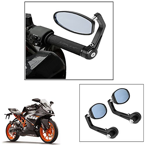 vheelocity motorycle bar end mirror rear view mirror ovalfor ktm rc 200 Vheelocity Motorycle Bar End Mirror Rear View Mirror OvalFor Ktm Rc 200 51 2ByhMlshPL