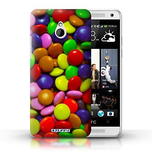 Kobalt® Imprimé Etui / Coque pour HTC One/1 Mini / Smarties conception / Série Bonbons Smarties