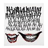 Suicide Squad der Joker temporärer Körper Tattoo Kit Kostüm lizenziert Tattoo