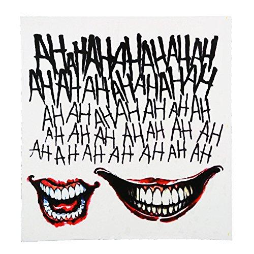 Suicide Squad der Joker temporärer Körper Tattoo Kit Kostüm lizenziert (Kostüme Jocker)