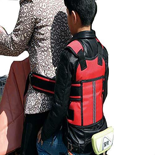 PYY Elektro-Fahrrad Kinder Reiten Sicherheitsgurt Kinder Elektroauto einstellbare Sicherheitsgurt Babytrage Auto Schutzgürtel Zweirad Fahrrad Fahrrad Schneemobil Reiten Gürtel