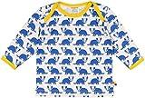 loud + proud Unisex Baby Langarmshirt Shirt, Druck, Blau (Pacific PA), 104