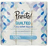Presto! 3 Ply Toilet Tissues – QUILTED