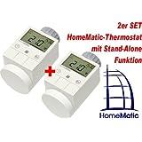 HomeMatic Funk-Heizkoerperthermostat 2er Set