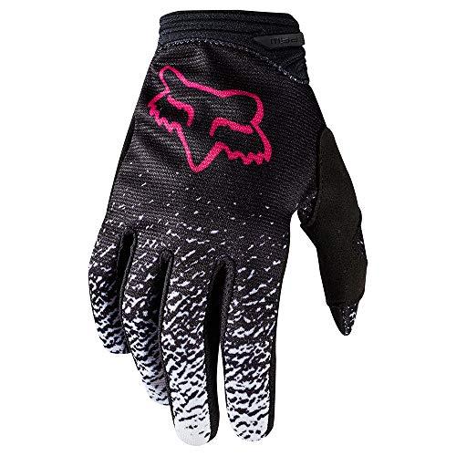 Fox Guantes Lady Motocross, Black/Rosa, Tamaño M