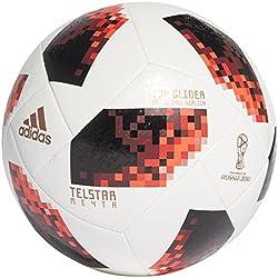 adidas World Cup KO Tglid Balón Línea, Hombre, Blanco/Negro (Rojsol), 5