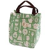 TEBAISE Lunchtasche Kühltasche Isoliertasche Thermotasche Picknicktaschen Mittagessen Tasche für Männer Frauen isoliert/wasserdicht groß