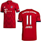 adidas FCB Heimtrikot 2018 2019 Kinder James 11 Gr 164