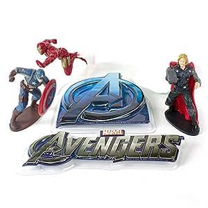 Avengers Cake Topper Set