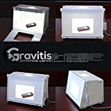 GRAVITIS® Portable Mini Photo Studio Box - Professional - Best Reviews Guide