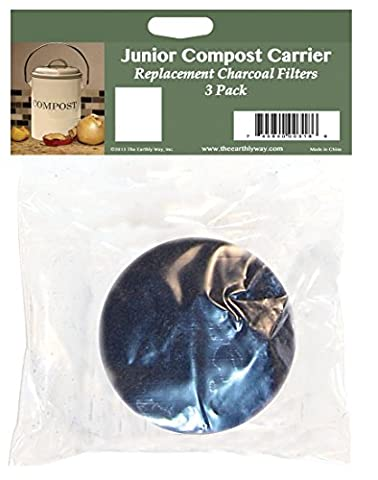 Star Kitchen & Home Replacement Filters for Junior Compost Carrier