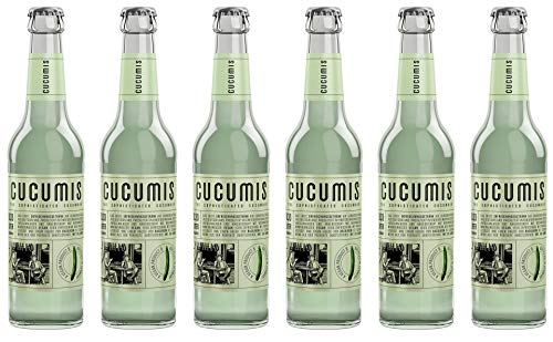 Cucumis - The Sophisticated Cucumber Gurkenlimonade MW inkl. Pfand - 6x0,33l inc. 0.48€ MEHRWEG Pfand -