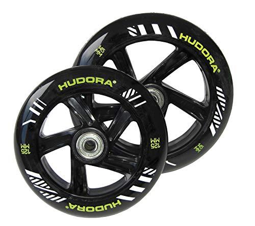 PU-Rolle Hudora Big Wheel per Paar 145 mm Ø schwarz/grün f.Mod.14255 (1 Stück)
