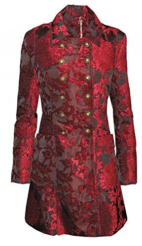 Vive Maria Amadeus Coat Girl-Mantel rot Rot