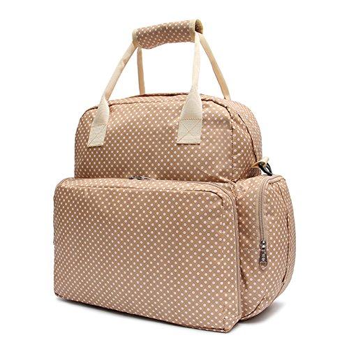 Baby Tasche Mit Samber Rucksack Verstellbarem Wasserdichte Windel Weiß Schultergurt 1qwqgxI