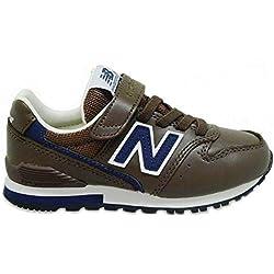 Zapatos Niño Casual Sneakers New Ballance Kv996bny Marron 38