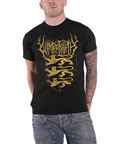 WINTERFYLLETH - Top - Maniche corte  - Uomo nero XX-Large