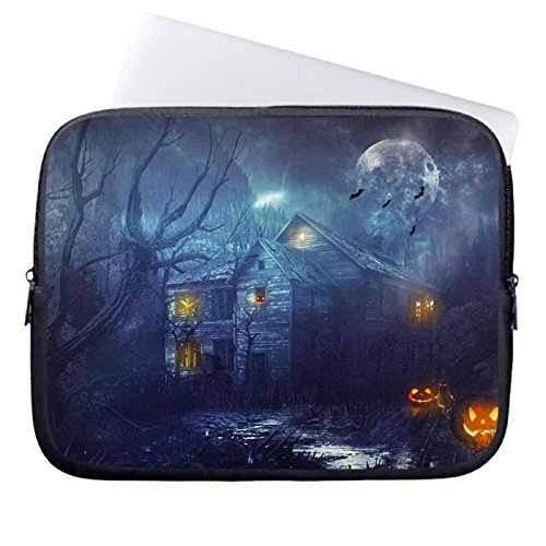 hugpillows-laptop-sleeve-borsa-halloween-sfondo-notebook-sleeve-casi-con-cerniera-per-macbook-air-13
