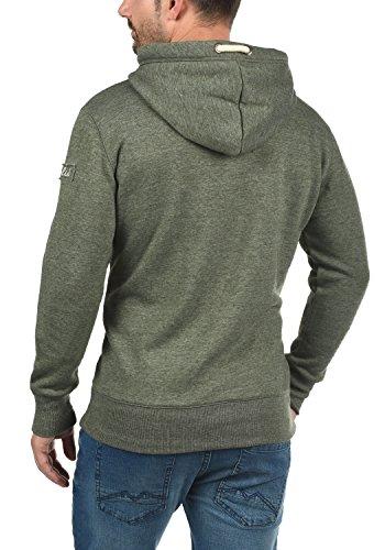 SOLID TripTall Herren Kapuzenpullover Hoodie Sweatshirt aus hochwertiger Baumwollmischung Climb Ivy Melange (8785)