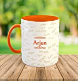 "FurnishFantasyâ""¢ Ceramic Mug - My name is Arjun"