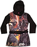 Disney Star Wars Bademantel Morgenmantel (104, Schwarz 3)