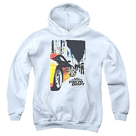 The Fast & The Furious Tokyo Drift Action Movie Poster Big Boys Pull-Over Hoodie