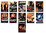 OFFERTA 11 DVD-Steven Seagal Into The Sun, Ruslan, The Keeper, A Dangerous Man, Belly Of The Beast, Il Vendicatore, Killing Point, Mercenary, The Foreigner, Submerged, Today You Die