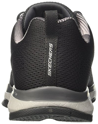 Skechers Burst TR-Coram, Sneakers Basses Homme Gris (CHAR)