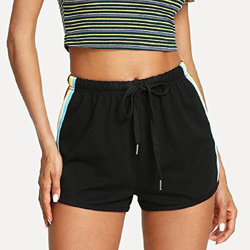 Staresen Shorts Damen Sommer Kurze Hose Lose Shorts Mode Frauen Weite Hose Sporthose Sommer Strandshorts Freizeithose Beachshort
