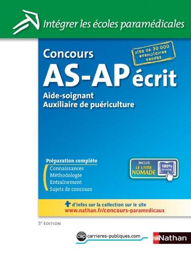 CONCOURS AS-AP ECRIT N14 5ED