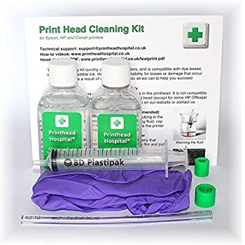Print Head Cleaning Kit for Canon Printers - 100ml: Amazon.co.uk ...