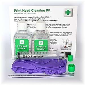 how to clean hp printer head cp1525
