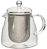 Hario Pure Pot à thé-Couvercle en verre 700 ml