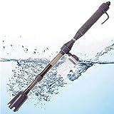 Strumento aspira rifiuti sifone pulizia pulisci acquario+pompa cambio acqua