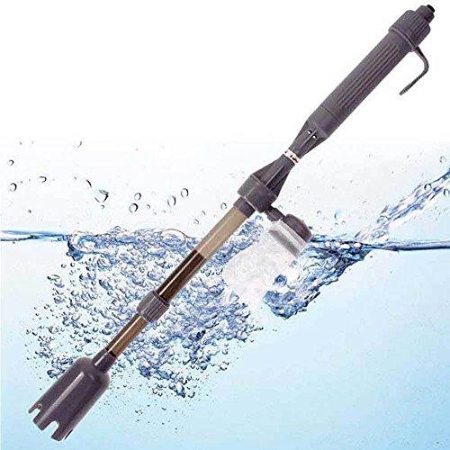 Instrument Mulmsauger Siphon reinigen reinigen Aquarium + Pumpe Schaltung Wasser