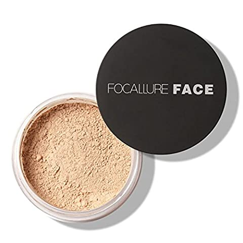 ROPALIA Maquillage de visage Finish Powder Waterproof Smooth Loose Poudre Fondation Cosmetique