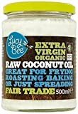 100% Pure Natural Raw Virgin Organic Coconut Oil, Hair Skin Nails Cooking 500g - PACK OF 3