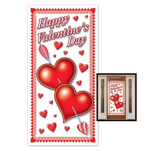 Valentine 's Day Tür, 30Geschenkpapierrolle 150cm, 1pro Paket ()