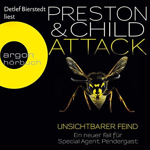 Buchseite und Rezensionen zu 'Attack: Unsichtbarer Feind (Pendergast 13)' von Douglas Preston