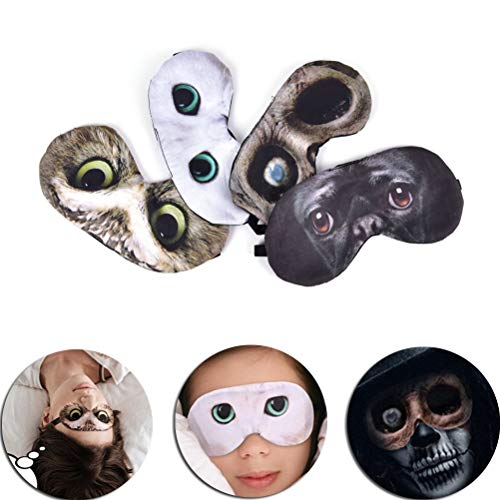 NOTE 3D Eyeshade Cat Sleep Mask Sleeping Mask Rest Relax Sleeping Aid Blindfold Ice Cover Eye Patch Case Cosplay Travel Eyepatch Case Cover Ice