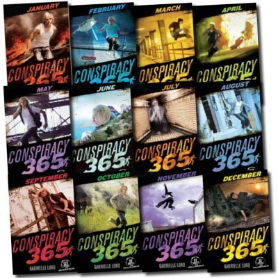 12 Books 365 Conspiracy Explosive Collection by Gabrielle Loard [Paperback] b...