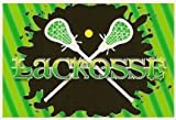 Lacrosse ~ Edible Image Cake Topper by Whimsical Practicality