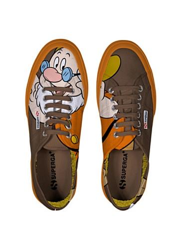 Le Superga - Cartoon 2750-disney Dotto Cobw Dotto Brown