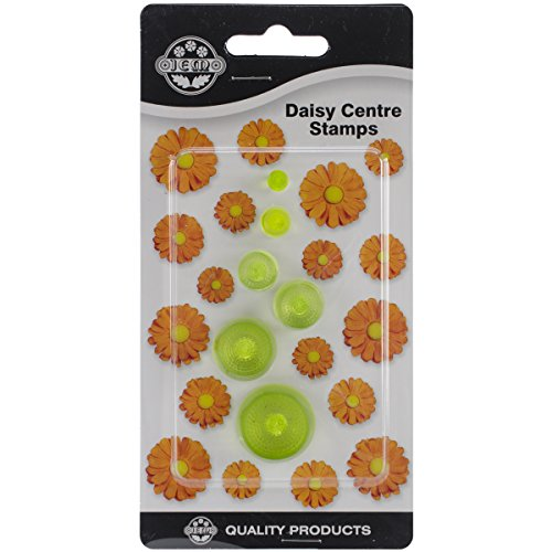 Plastic Cutters 6/Pkg-Daisy Centers Daisy Cutter
