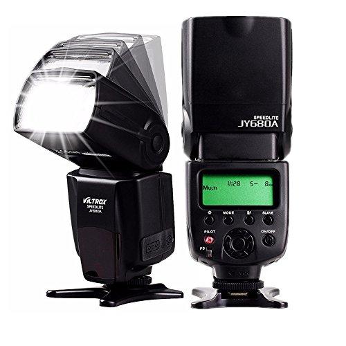 Speedlite-Flash-Manuale-LCD-Universale-Veloce-Telecamera-Flash-Speedlight-per-Qualsiasi-Fotocamera-Digitale-con-Hot-Shoe-Standard-Compatibile-con-Canon-Nikon-Sony-e-Altre-Fotocamere-DSLR