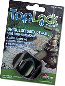 The Taplock. Outdoor garden tap security lock device. Ideal for saving water and stopping unauthorized users of your water