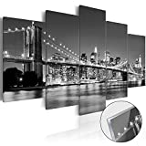 murando – Acrylglasbild New York 200x100 cm - 5 Teilig - Bilder Wandbild - modern - Decoration – d-B-0054-k-m