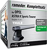 Rameder Komplettsatz, Dachträger SlideBar für OPEL Astra K Sports Tourer (137098-14870-1)