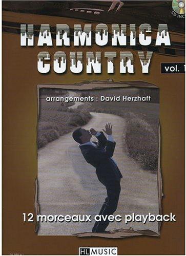 Harmonica Country Volume 1 par David Herzhaft